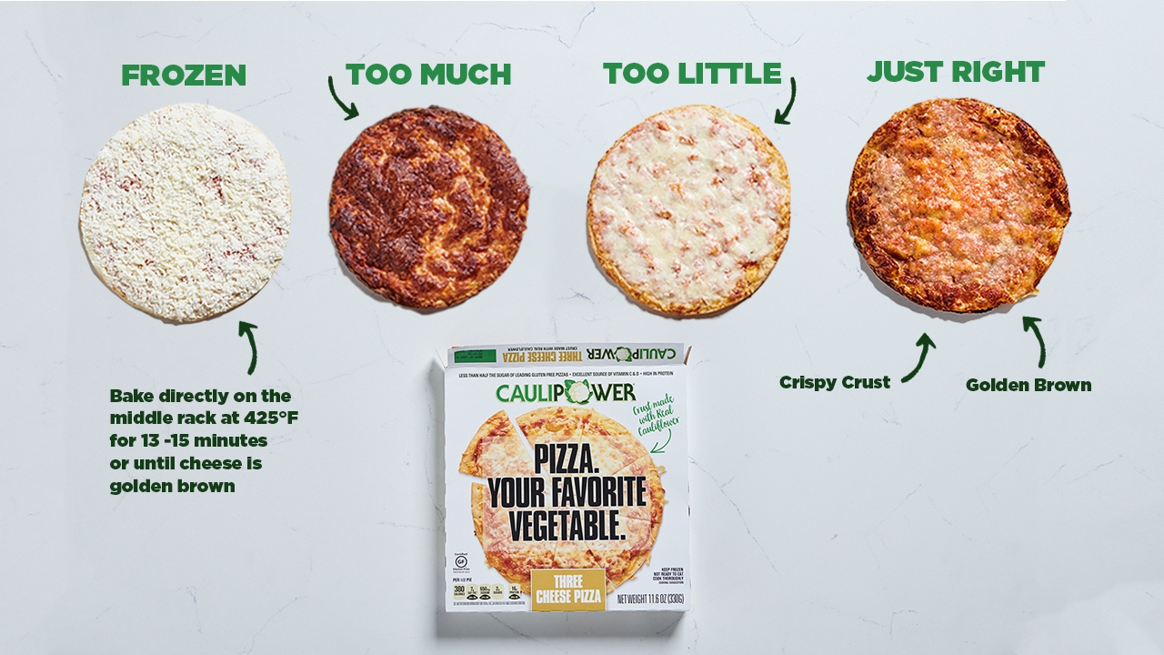 Your Go-To Guide To Perfectly-Cooked CAULIPOWER Pizza