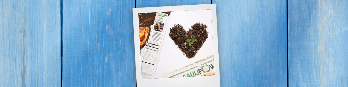Grow your own toppings to help keep the earth healthy!