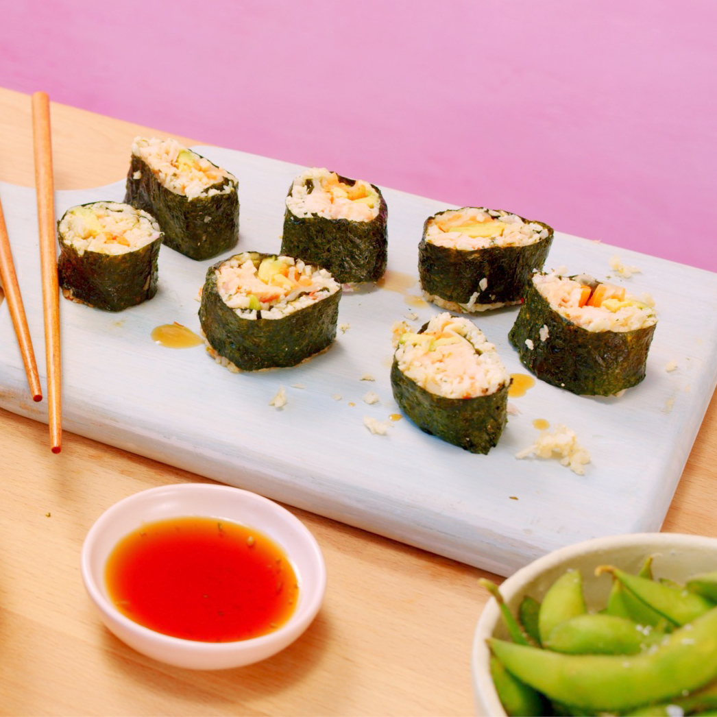 So-fish-ticated Low Carb Sushi