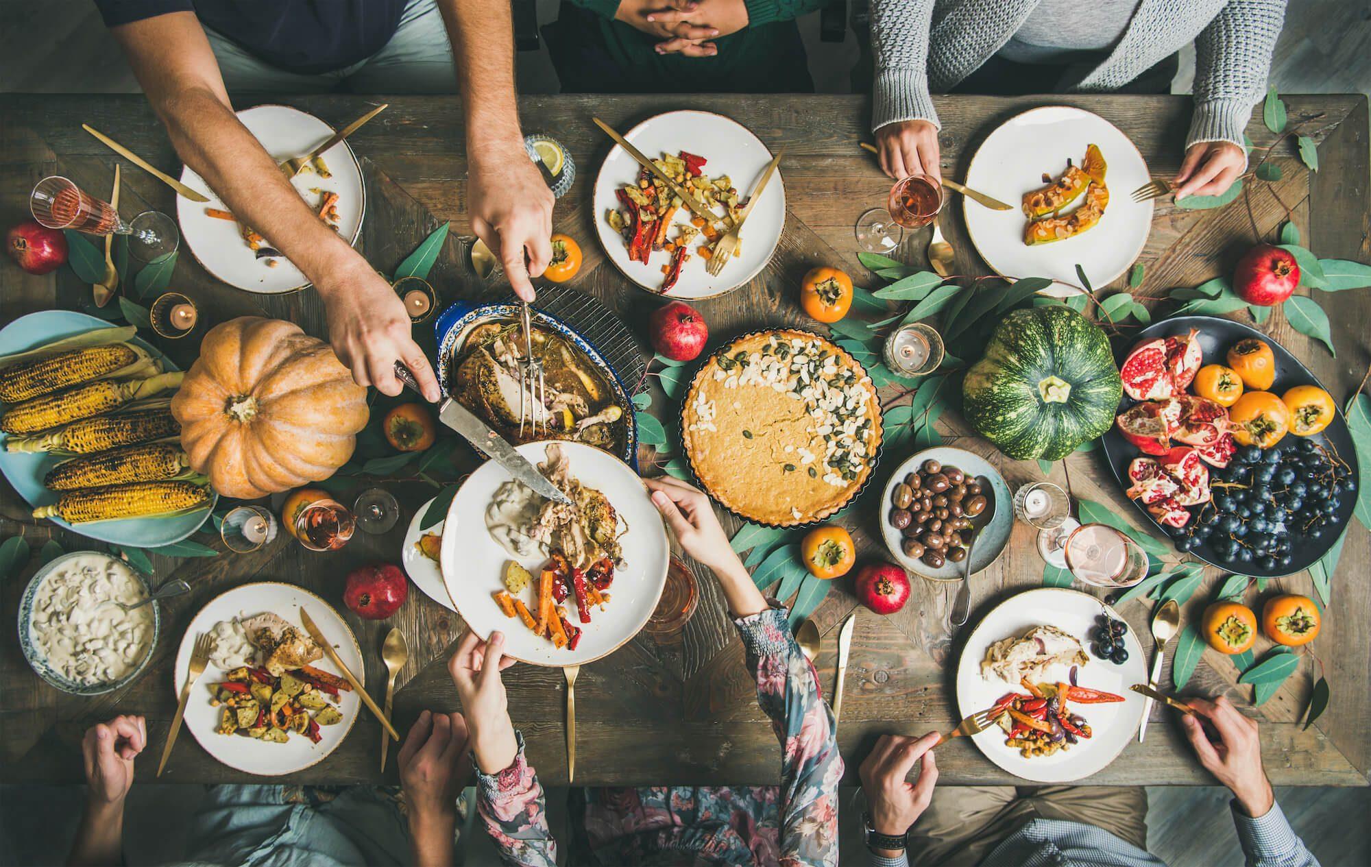 friendsgiving menu