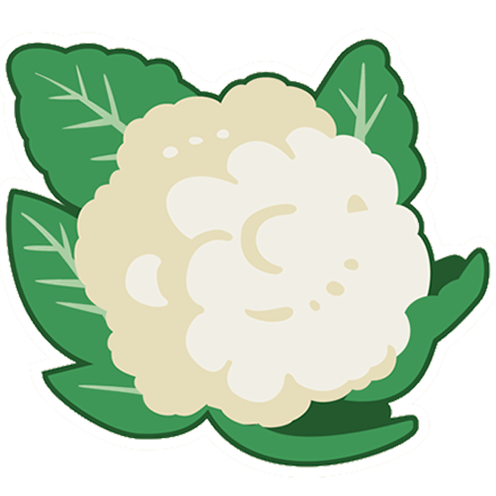 Cauliflower Emoji