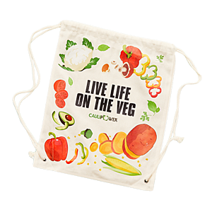 """LIVE LIFE ON THE VEG"" Bag"