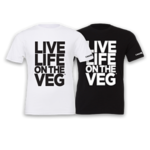 """LIVE LIFE ON THE VEG"" Bold T-Shirt"