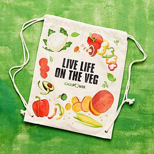 """""""LIVE LIFE ON THE VEG"""" Bag"""