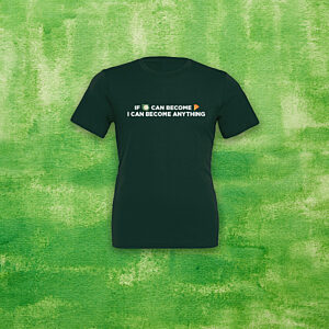"""""""IF CAULIFLOWER CAN BECOME PIZZA, YOU CAN BECOME ANYTHING"""" T-shirt"""