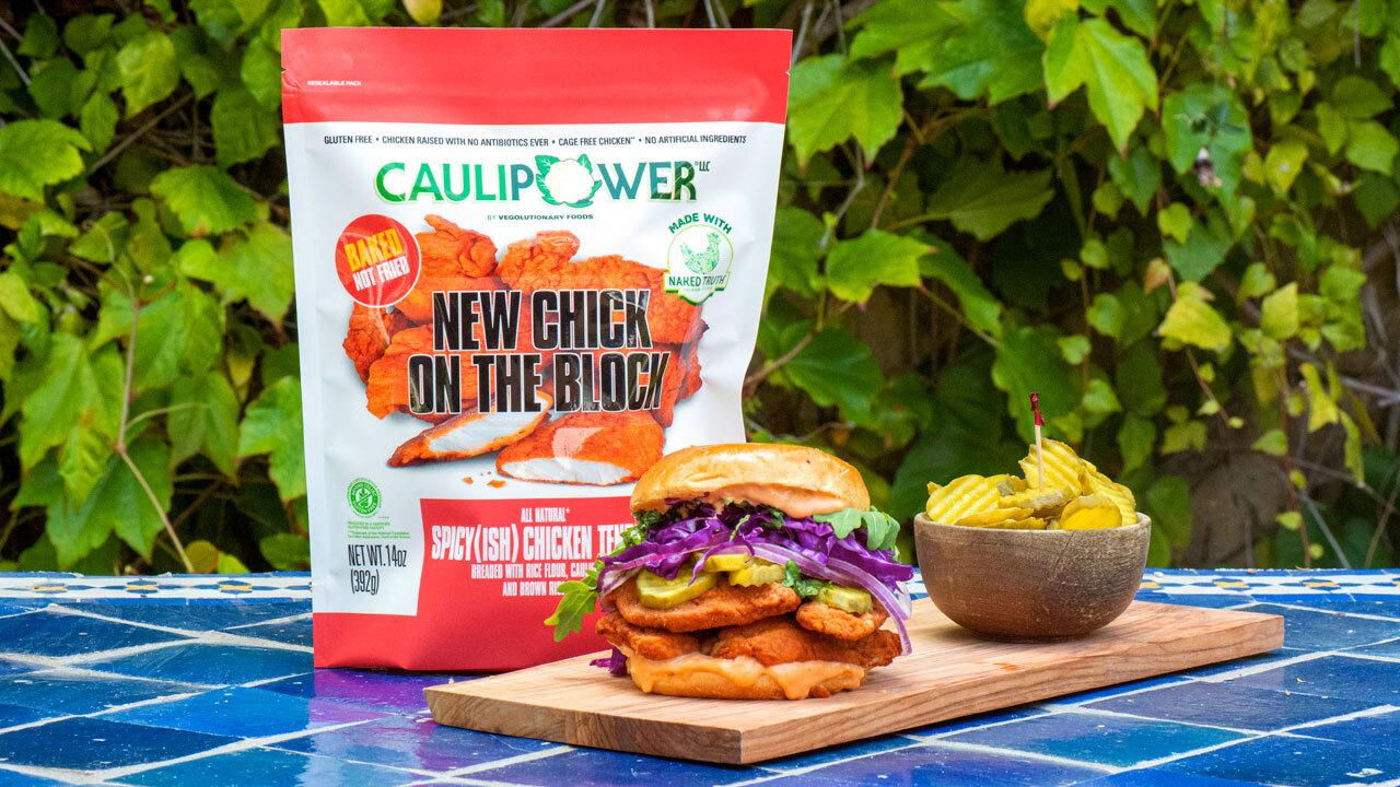 CAULIPOWER gluten free chicken tender salad