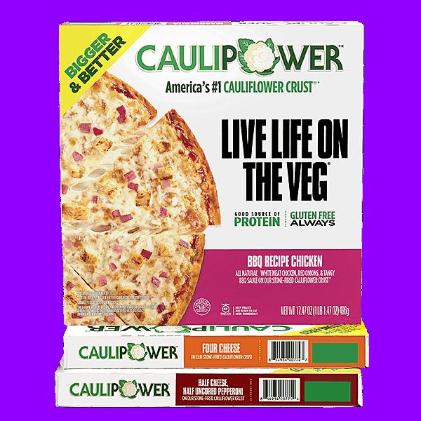 CAULIPOWER BIGGER Stone-fired Cauliflower Crust Pizzas
