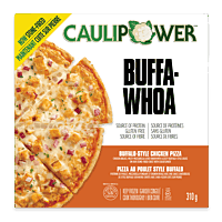 Buffalo-Style Chicken Cauliflower Crust Pizza