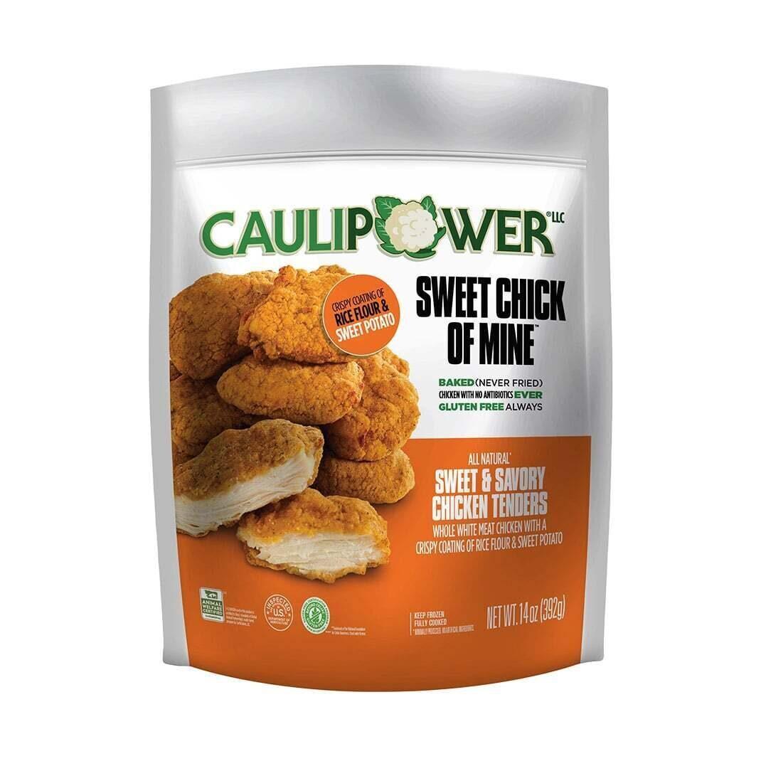 Sweet & Savory Chicken Tenders packaging - CAULIPOWER