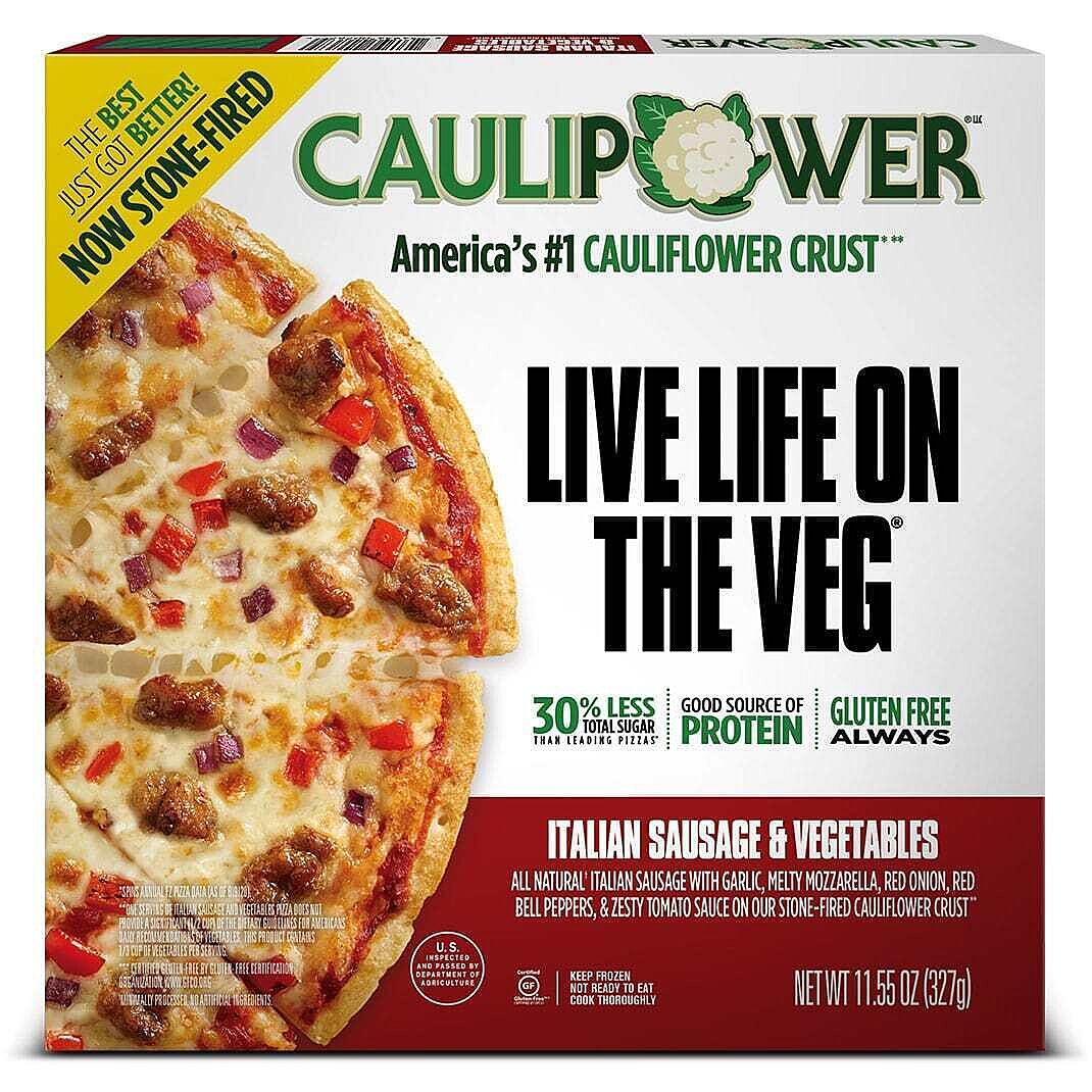 Italian Sausage & Vegetables Stone-fired Cauliflower Crust Pizza