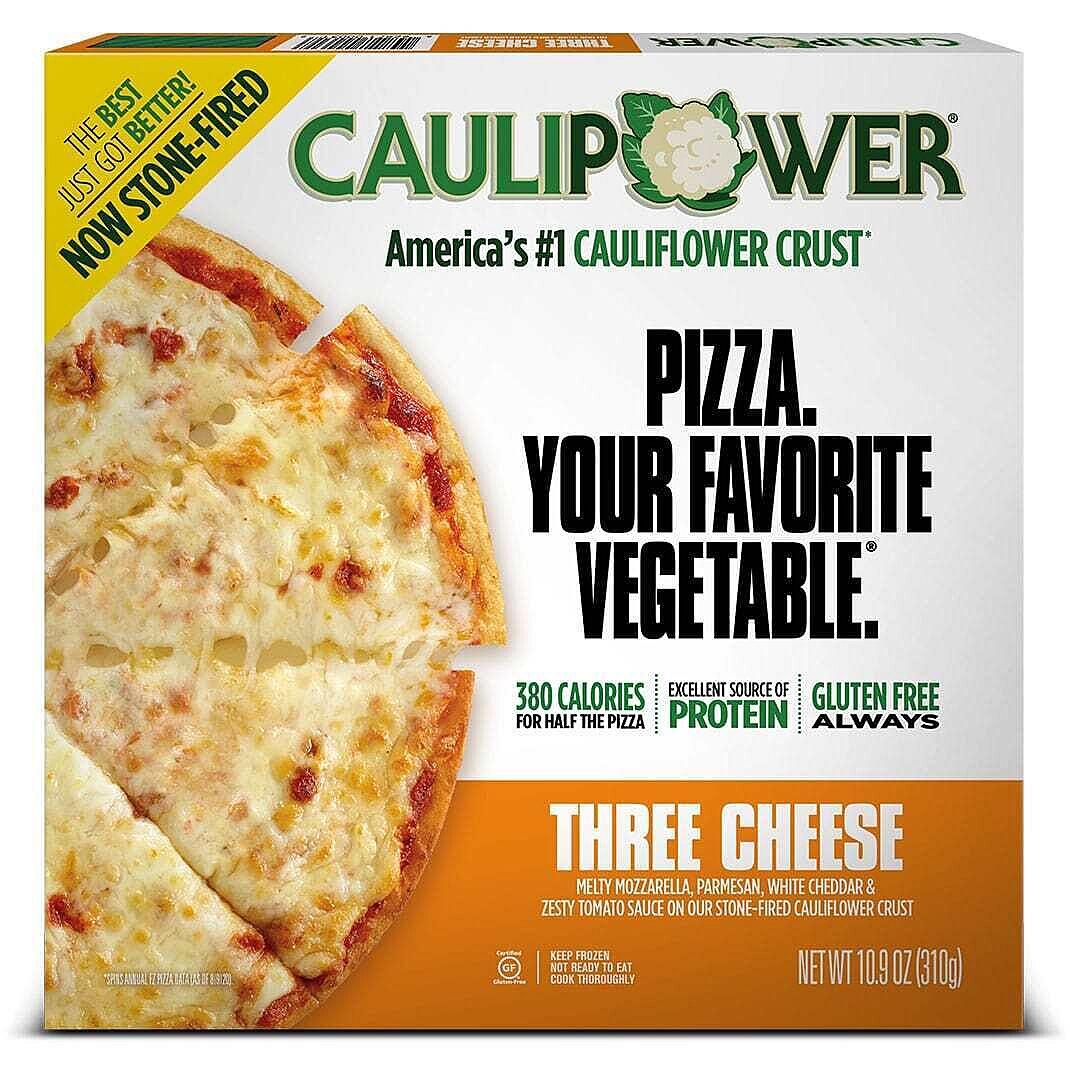 Three Cheese Stone-fired Cauliflower Crust Pizza