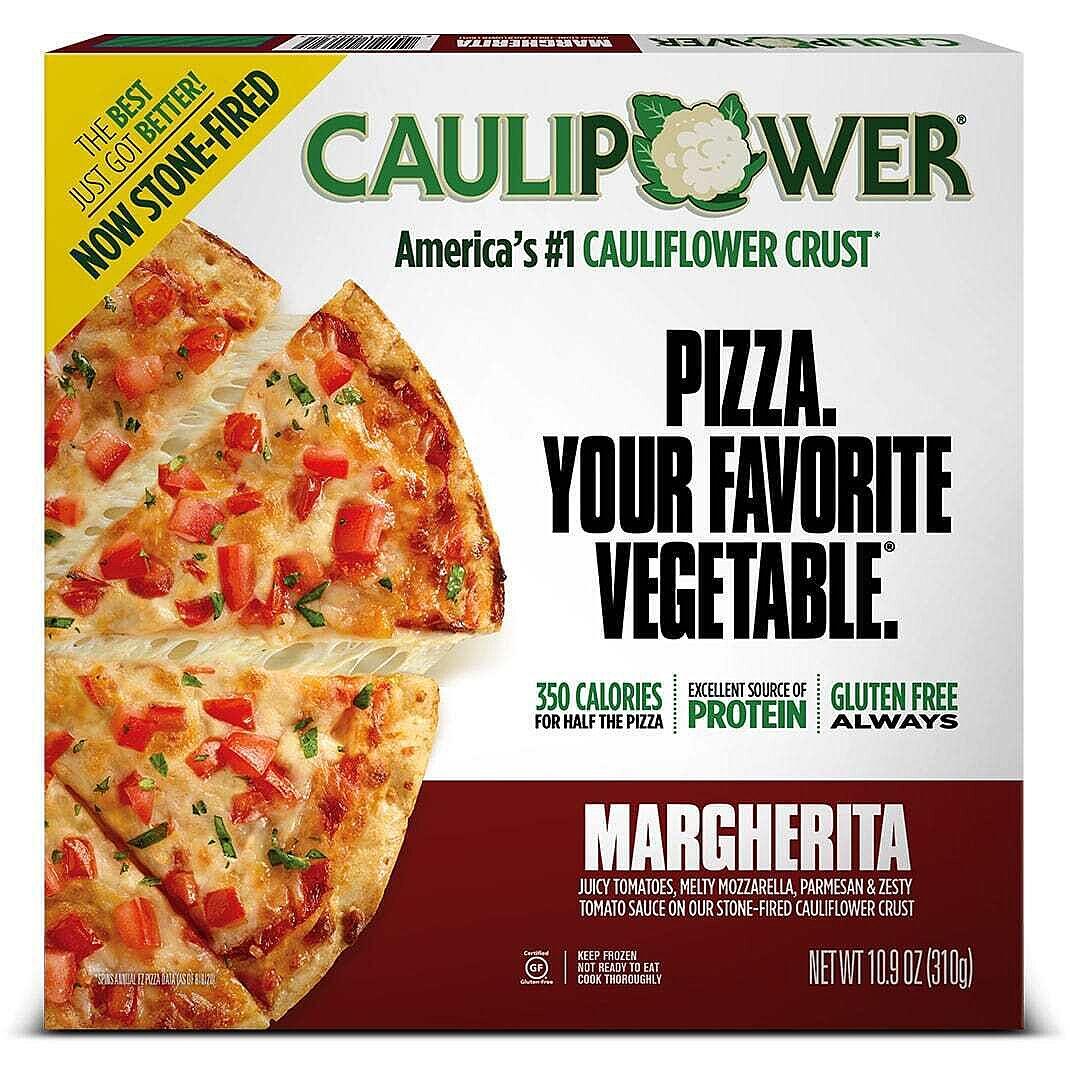Margherita Stone-fired Cauliflower Crust Pizza