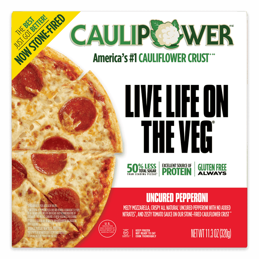 Uncured Pepperoni Stone-fired Cauliflower Crust Pizza