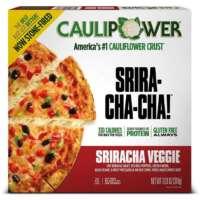 Sriracha Veggie Stone-fired Cauliflower Crust Pizza