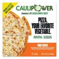 Four Cheese BIGGER Stone-fired Cauliflower Crust Pizza