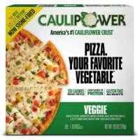 Veggie Stone-fired Cauliflower Crust Pizza