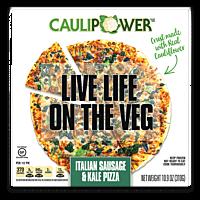 Italian Sausage & Kale Pizza