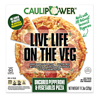 Uncured Pepperoni & Vegetables Cauliflower Crust Pizza