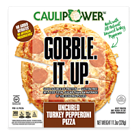 All Natural Uncured Turkey Pepperoni Cauliflower Crust Pizza