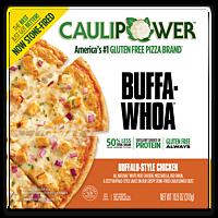 Buffalo-Style Chicken Stone-fired Cauliflower Crust Pizza