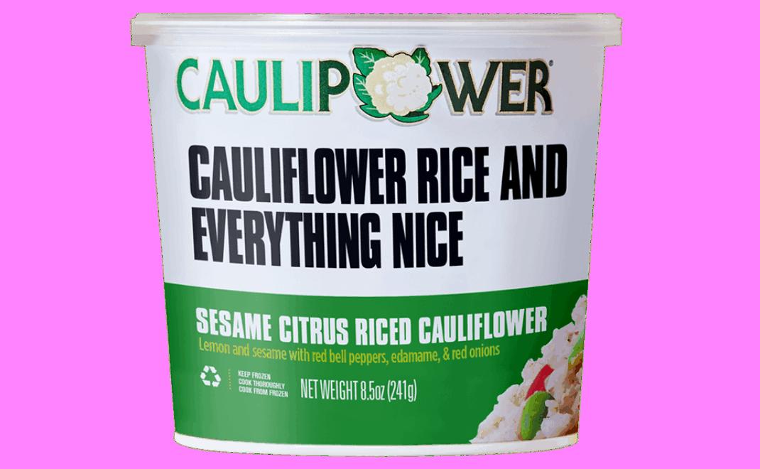 Sesame Citrus Riced Cauliflower