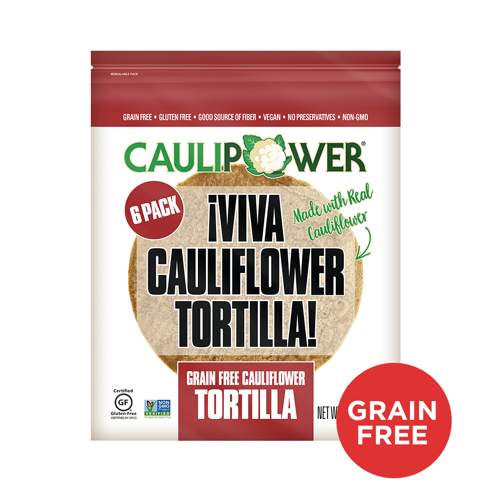 Grain Free CAULIPOWER Tortilla Packaging