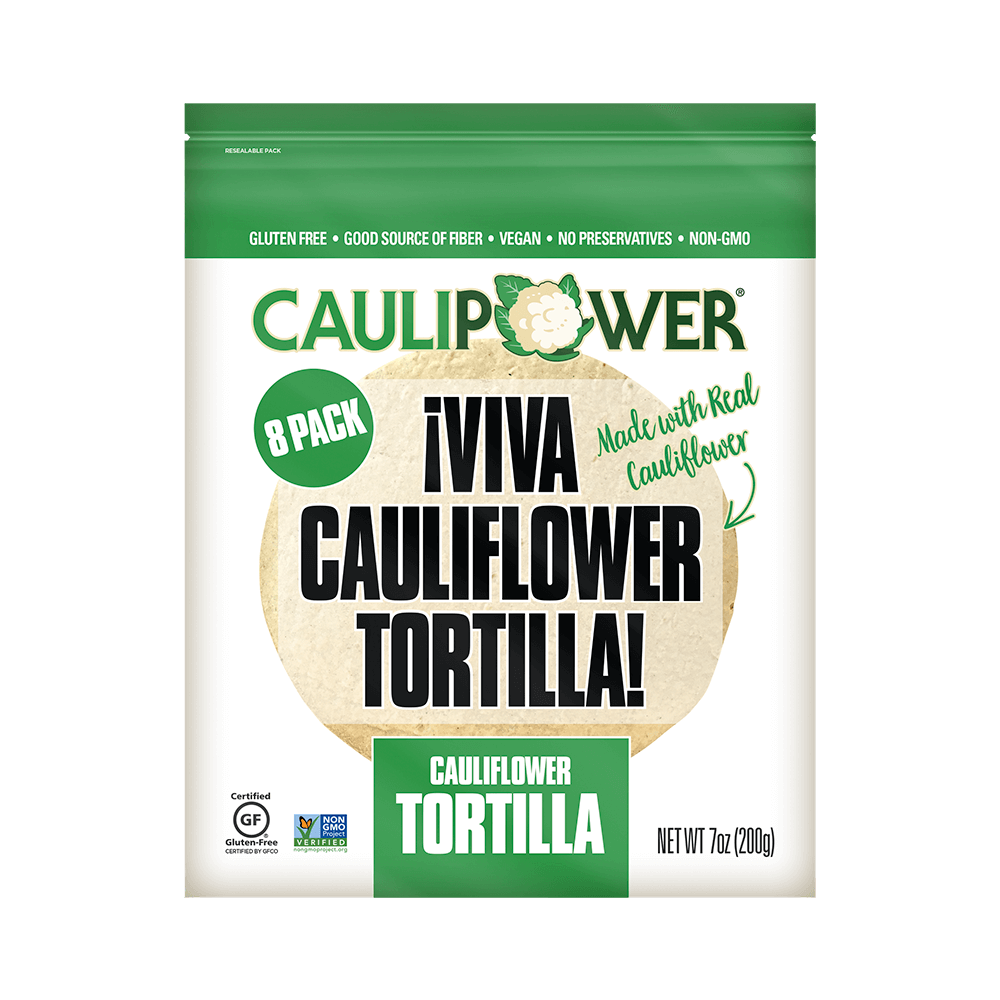Original CAULIPOWER Tortilla Packaging