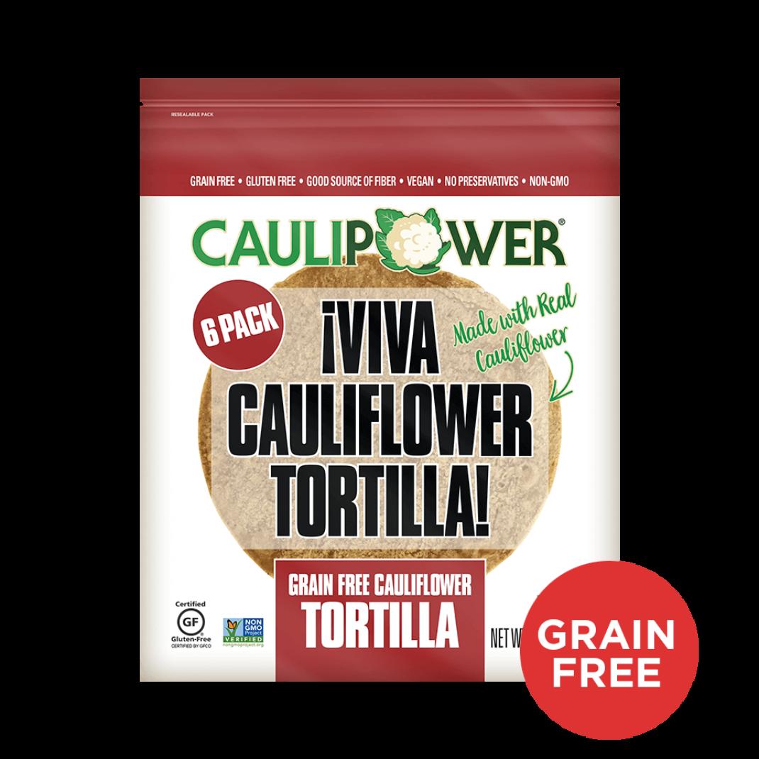 Grain Free Cauliflower Tortillas