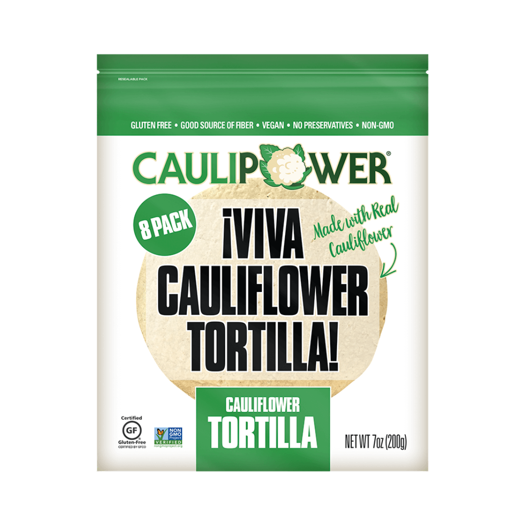 CAULIPOWER Cauliflower Tortilla Packaging
