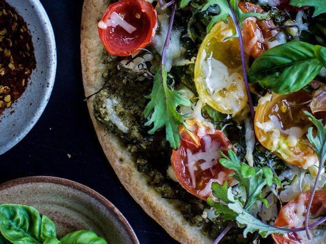Everything But the Planter Pizza