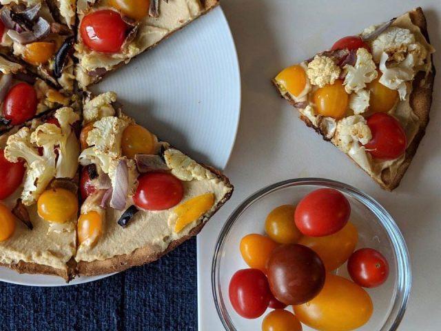 Hors D'oeuvre Mediterranean Pizza