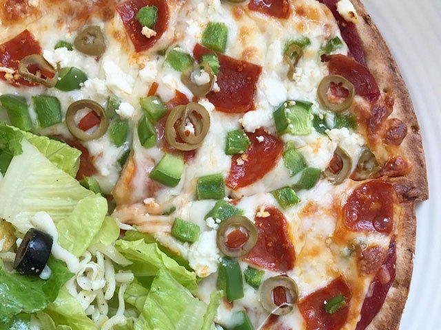 Lean, Mean & Green Pizza
