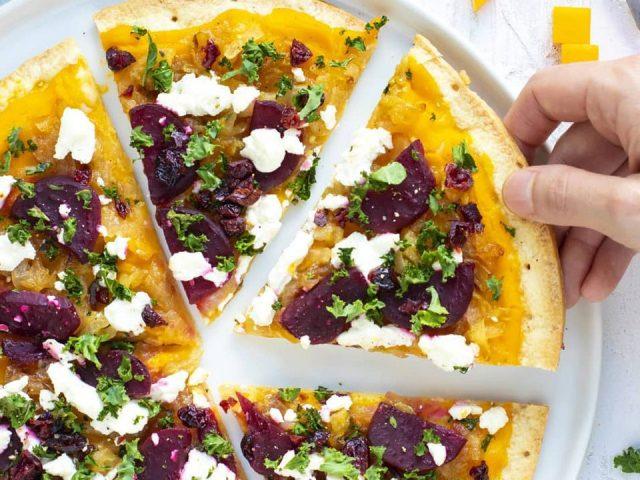 Fall Edition Gluten-Free Savory Pizza