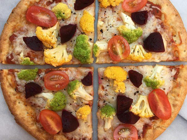 Triple Cauli Celebration Pizza