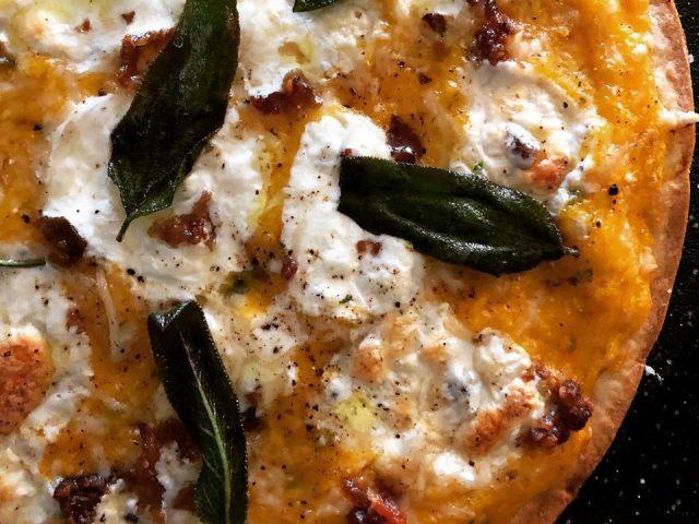 Butternut Squash & Sage Pizza