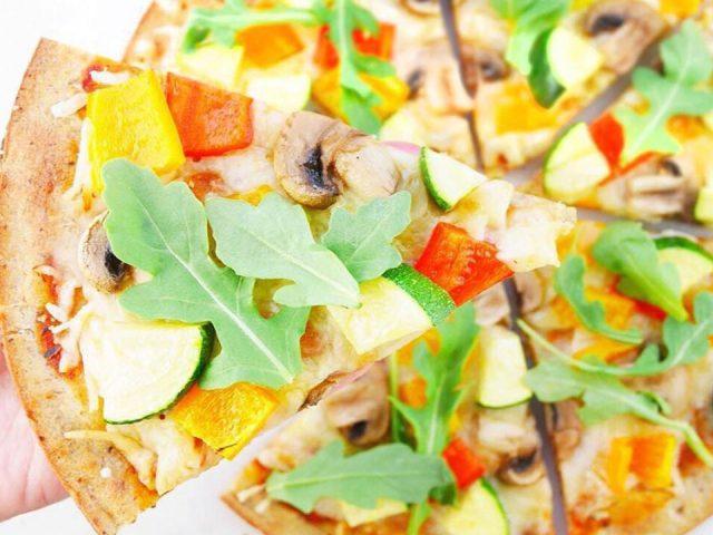 All-Veggie Paleo Pizza