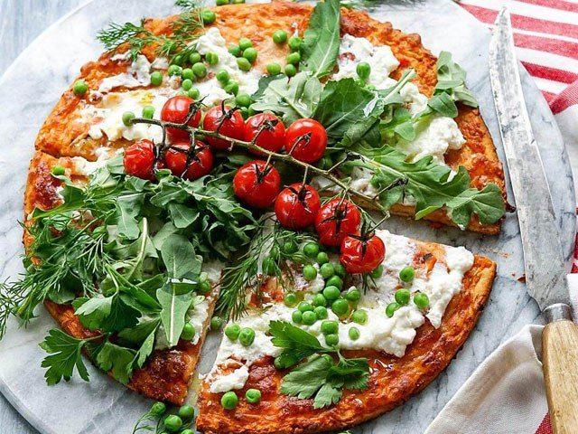 Garden Fresh Pizza