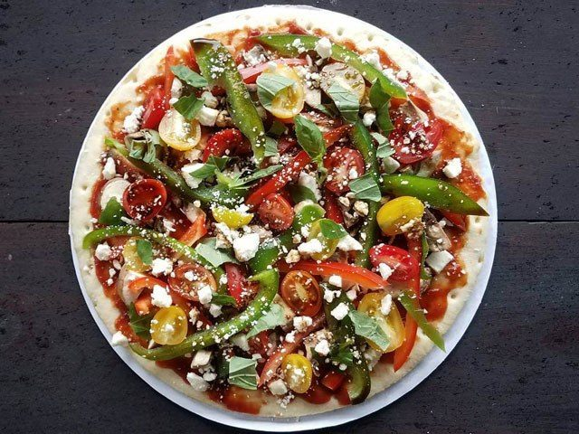 Post-Workout Veggie Pizza