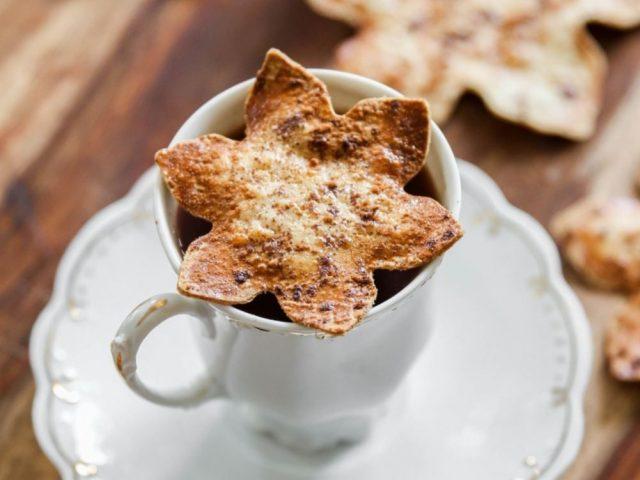Spiced Cauliflower Tortilla Snowflake Chips with CAULIPOWER Tortillas