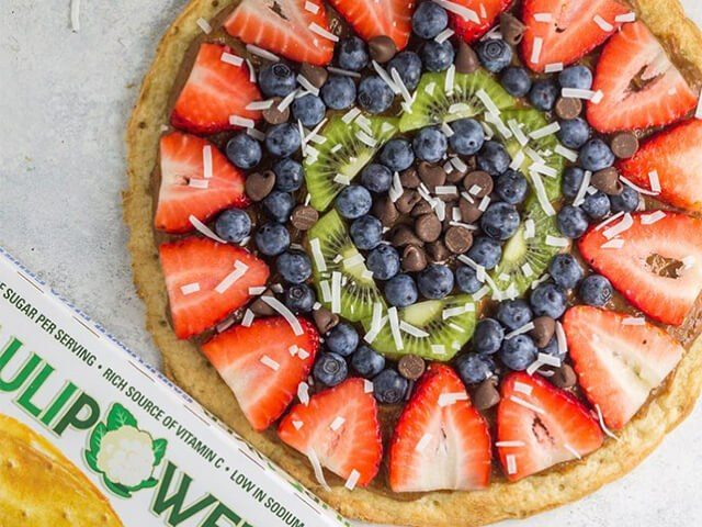 Chunky Monkey Fruit Pizza
