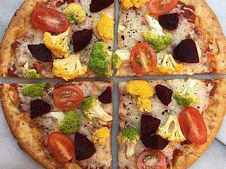 Triple Cauli Celebration Pizza