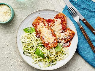 Healthy CAULIPOWER Chicken Parm