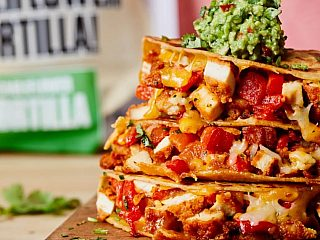 CAULIPOWER Spicy Chicken Quesadillas