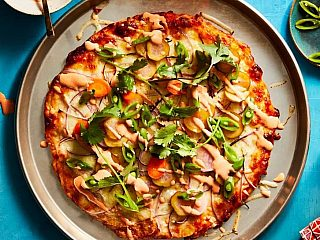 CAULIPOWER Red Curry Pizza