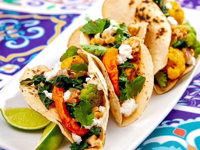 Garden Variety Veggie Tacos