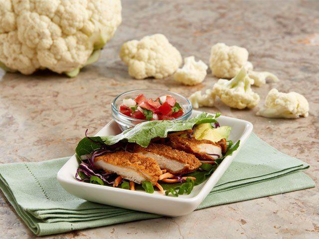 Chicken Tender Lettuce Wrap